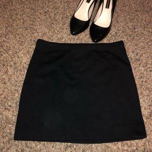 Forever 21 Black Mini Pencil Skirt